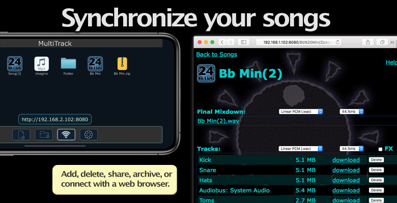 Synchronize your songs